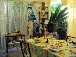 giardino b&b San Michele